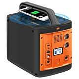 WESTLEY Portable Power Station 298Wh/92800mAh, Solar Outdoor Generator with AC(110V, 200W)/ DC/ USB/ Type-C/ SOS Light, Backup Battery for Camping, Traveling, Hunting | WT300Y
