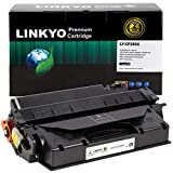 LINKYO Compatible Toner Cartridge Replacement for HP 80X CF280X (Black, High Yield)