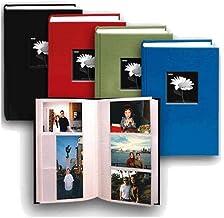 إطار من نسيج بايونير ثنائي الاتجاه لصورة مذكرة صور ، أغطية قماش زاهية ، يحمل 300 صورة 4×6 ، 3 في الصفحة، اللون: متنوع.