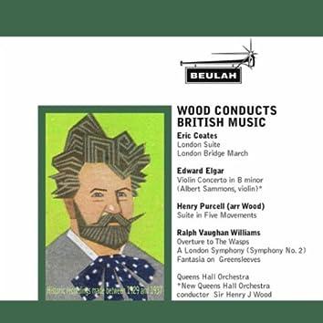 Wood Conducts British Music
