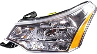 Headlight Assembly Compatible with 2008-2011 Ford Focus Halogen CAPA Driver Side