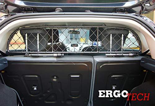 ERGOTECH Trennnetz Trenngitter Hundenetz Hundegitter für Ford Fiesta BJ 2008-2016