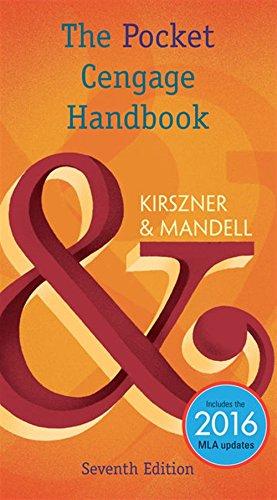 The Pocket Cengage Handbook, 2016 MLA Update, Spiral bound Version (The Cengage Handbook Series)