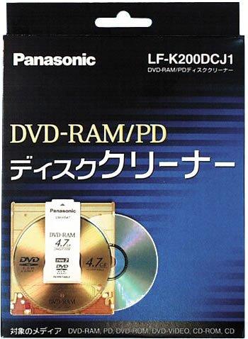 パナソニック DVD-RAM/PDディスククリーナー LF-K200DCJ1