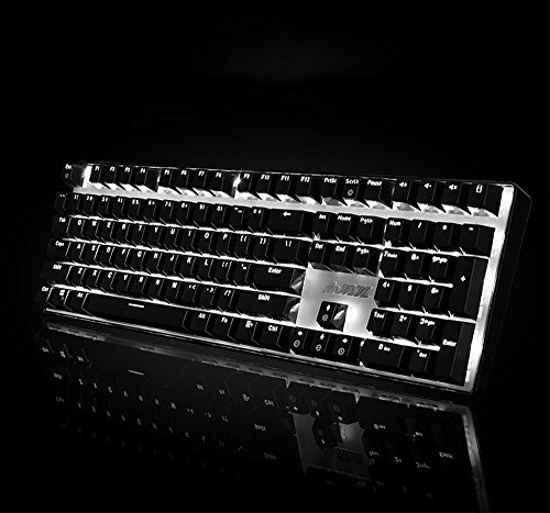 TD zwart golf mechanisch toetsenbord met achtergrondverlichting volledig toetsenbord 108 sleutelmachine toetsenbord notebook PC desktop gameuitrusting kantoor familie, groen