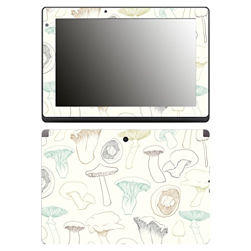 'Disagu SF 106491 _ 1191 Mushroom Design Case Cover For Acer Aspire Switch 10E SW3/013/03 Clear