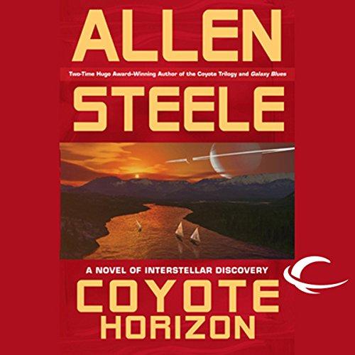 Coyote Horizon audiobook cover art