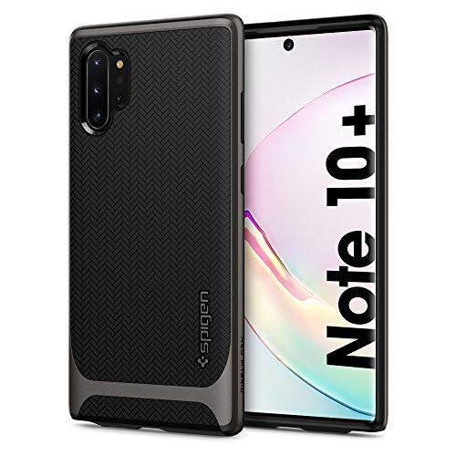 Spigen Neo Hybrid Hülle Kompatibel mit Samsung Galaxy Note 10 Plus -Gunmetal