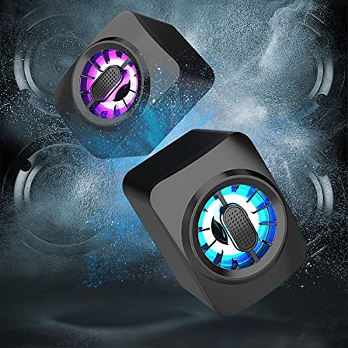 Mini-Lautsprecher, RGB hell, USB 2.0, kabelgebundener Audio-Lautsprecher mit...