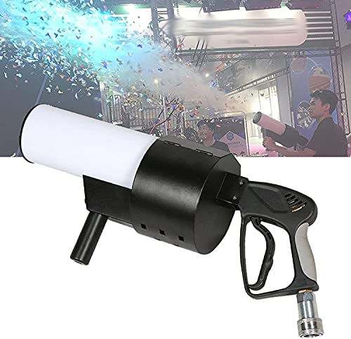 LSZ Fog Machine Fog Machine, Portable Handheld CO2 Stage Air Column Smoke Confetti Machine, Manual Fog Machine for Wedding Disco, Birthday Party, Stage Decorations Fog Machine (Color : A)