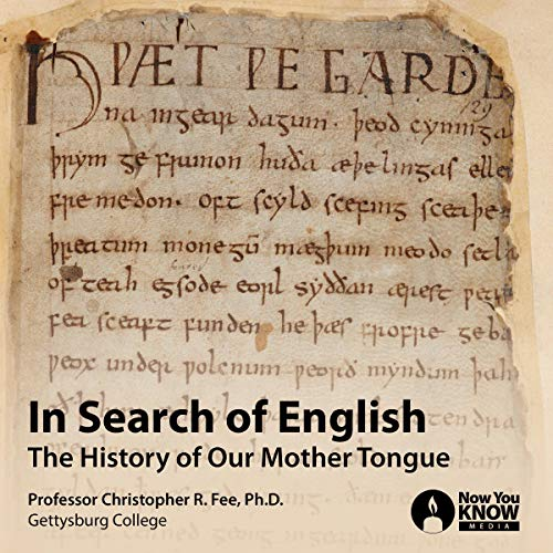 In Search of English audiobook cover art