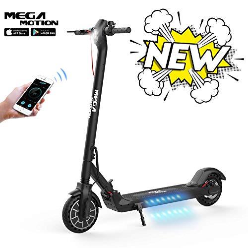 """Scooter Eléctrico 8,5"""" Plegable con App, Patinete Eléctrico Motor de 350W Velocidad 30km / h MAX, Batería de Larga Duración de 7.5Ah, Scooter Eléctrico para Adultos"""