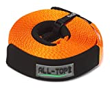 ALL-TOP Nylon Recovery Snatch Strap - 2-3/8 inch x 30 ft - Heavy Duty...