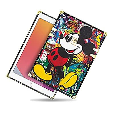 IPad Case Compatible with iPad 10.2 2020 iPad 8th Gen/2019 iPad 7th,Ultra Slim Soft TPU Cute Cartoon Shockproof Full Body Protection Cover Case for iPad 10.2 inch (A1)