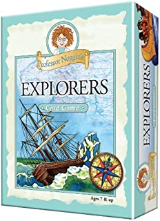 Educational Trivia Card Game - Professor Noggin's Explorers