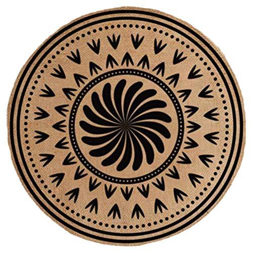 Zen et Ethnique - Tavolo rotondo in tela