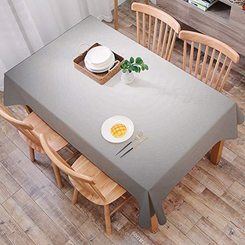 Tischdecke abwaschbar 140x200 cm,Grau, verblasst Digital Print dunkle Unschärfe Grunge Stil Plain Modern Urban Life Artsy Print, gra,Ölfeste Tischdecke, geeignet für die Dekoration von Küchen zu Hause