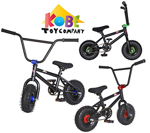 Kobe Mini BMX Bike - Pro Bicycle - Black/Blue