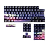 keycaps 104 Keys PBT KeyCap Dye-Sub OEM Perfil Sunset Starry Sky Personalidad para el Teclado mecánico Rubber keycaps
