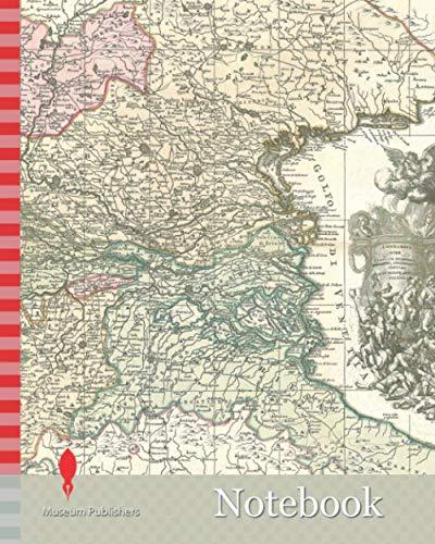Notebook: Map, Venet. Reip. dominium, nec non pontificii iuris ditionum pars maxima et nobilissima in quibus exercituum caesarianorum Gallorumque ... demonstrantur, Petrus Schenk (1693-1775