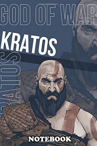 Notebook: Kratos Is A Warrior Originally From Sparta Who Became T , Journal for Writing, College Ruled Size 6