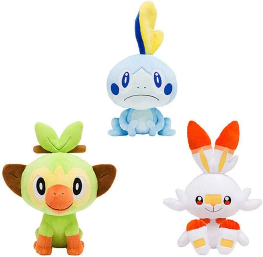 Amazon Com 20cm Sobble Scorbunny Grookey Cartoon Elf Figure Plush Soft Stuffed Collection Toys For Children Christmas Gift 3pcs 20cm Arts Crafts Sewing *please note that my plush toys are not meant for children due to being handmade and featuring certain materials unsafe for children (wire and plastic pellets). 20cm sobble scorbunny grookey cartoon elf figure plush soft stuffed collection toys for children christmas gift 3pcs 20cm