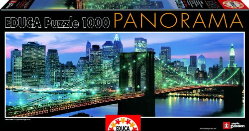Educa Borras - 14456 - Puzzle - Pont de Brooklyn - New-York - 1000 Pièces