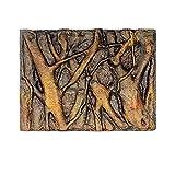 Único WElinks 9 tipos 60x45x3cm espuma 3D roca reptil piedra acuario fondo fondo tanque de peces decoración acuario fondo cartel decoraciones (I)