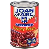 Joan of Arc Beans, Dark Red Kidney, 15.5 Ounce