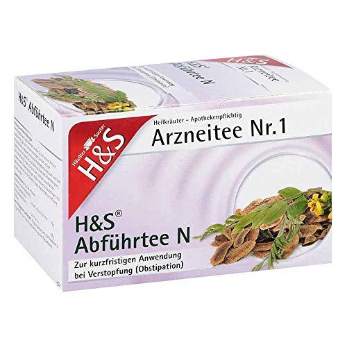 H&S Abführtee N Arzneitee Nr. 1 bei Verstopfung Filterbeutel, 20 St. Filterbeutel