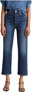 Women's Ribcage Straight Ankle Jeans