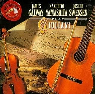 Yamashita plays Giuliani: Duo Concertante, Op.25 for Violin & Guitar; Serenade, Op.19 for Violin, Cello & Guitar; Gran Duetto Concertante, Op.52 for Flute & Guitar