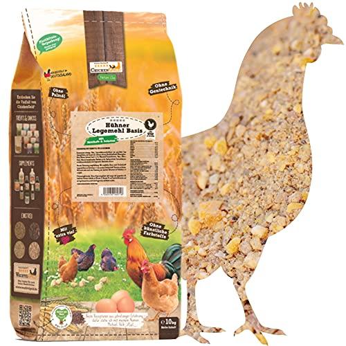 ChickenGold Hühnerfutter - 10kg Legemehl - ohne Gentechnik - Legefutter für Legehennen
