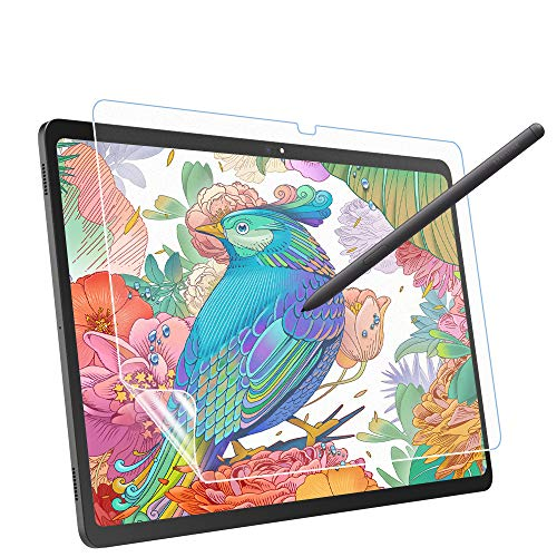MoKo Like Paper Screen Protector Compatible with Samsung Galaxy Tab S7 Plus 2020, [Paper-Thin Film Writing] Anti-Glare Tablet PET Film fit Samsung Galaxy Tab S7 Plus 12.4' 2020 SM-T970/976/T975, Matte