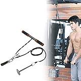Urisgo Fitness DIY Polea Cable Máquina Sistema de fijación Brazo Bíceps Tríceps Blaster Entrenamiento de Fuerza Manual Equipo de Entrenamiento de Gimnasio en casa