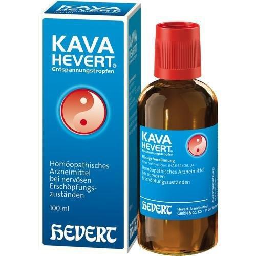 KAVA HEVERT ENTSPANNUNGSTR 100ml Tropfen PZN:2736685