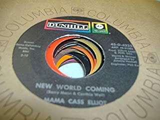 MAMA CASS ELLIOT 45 RPM New World Coming / Blow Me A Kiss