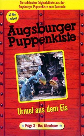Augsburger Puppenkiste - Urmel aus dem Eis Teil 3: Das Abenteuer [VHS]