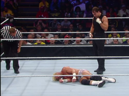 United States Championship Match Dean Ambrose Vs. Dolph Ziggler