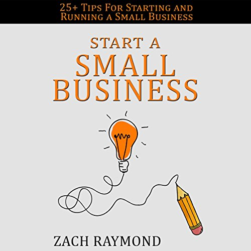 Start a Small Business audiobook cover art