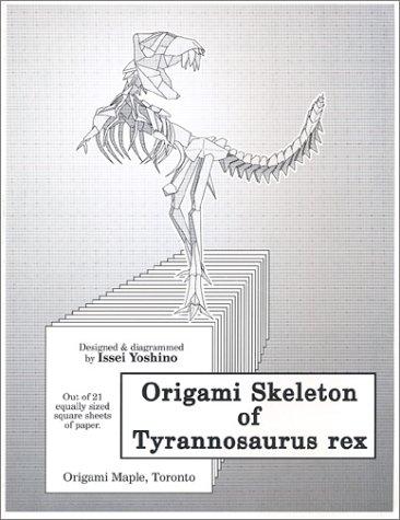Origami Skeleton of Tyrannosaurus Rex