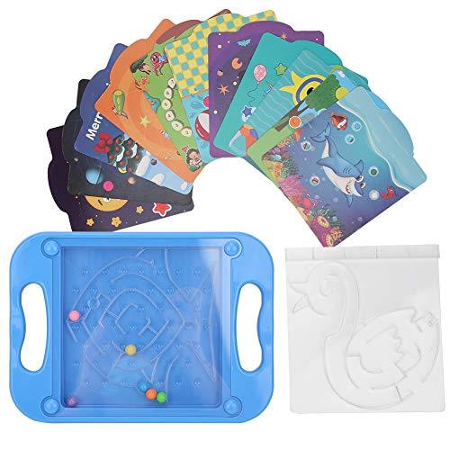 Juguete plástico del laberinto, juguete del laberinto de los granos, colorido para los niños de los adultos mayores de 3 años(777-522)