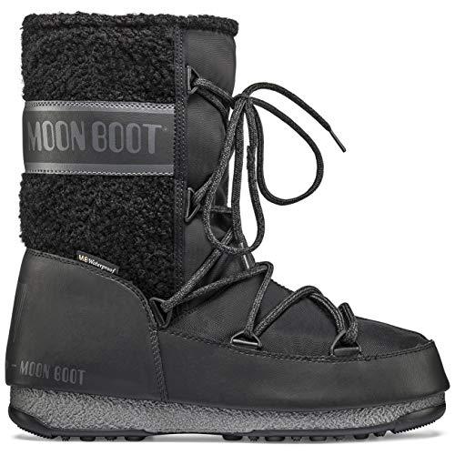 MOON BOOT MOON BOOT Monaco Wool Mid WP Botas Mujeres Negro -