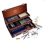 Royal Brush - Kit per schizzo e disegno, 134 pezzi