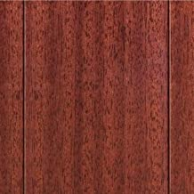 High Gloss Santos Mahogany 3/8in.Thick x4-3/4 in.Widex47-1/4 in Length Click Lock Hardwood Flooring (24.94 sq.ft./case)