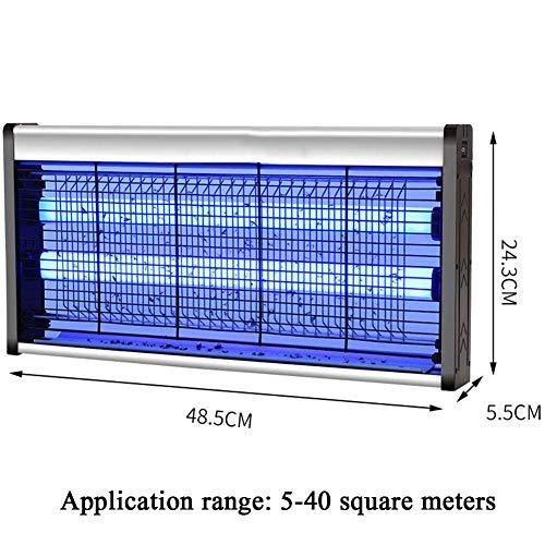 YANGSANJIN Lámpara de Mosquito con Bombillas UV Profesionales de 30 vatios Impermeables...