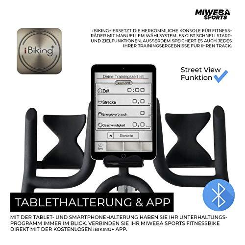 Ergometer Heimtrainer Fahrrad + App-Steuerung Bild 4*