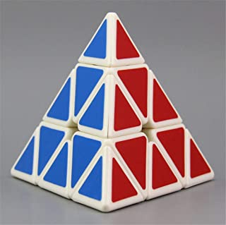 High quality Pyramid Rubik Cube Triangle Tetrahedron, 3x3x3 Pyramid Speed Cube Suitable for Brain Teasers and Beginners