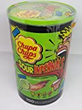 Chupa Chups - Sour Infernals Saure Lutscher Lollies - 100St/950g -