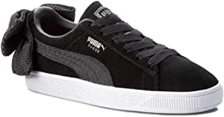 PUMA Womens Bow Uprising Leather Low Top Lace Up Fashion Sneakers US
